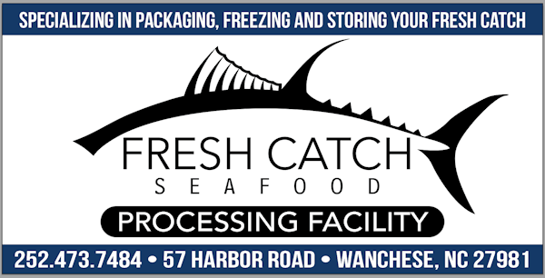Fresh Catch Seafood sign